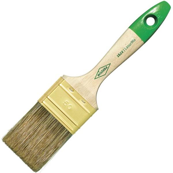 Flachpinsel LasurMix mit Messingblech